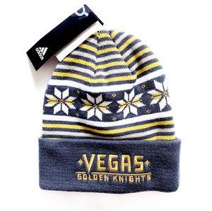 🆕 Adidas Las Vegas Golden Knights Winter Hat
